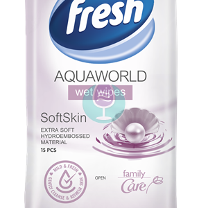 Vlazne maramice fresh aqua world