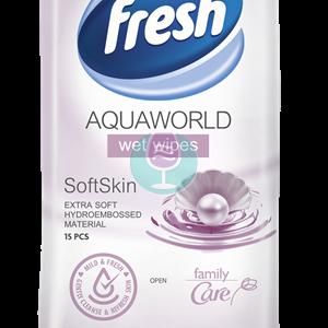 Vlazne maramice fresh aqua world