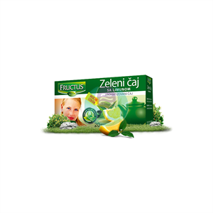 Fructus čaj zeleni sa limunom