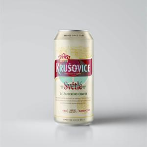 Krušovice svetlo pivo 0.5l