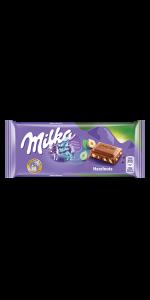Hazelnuts 80g Milka