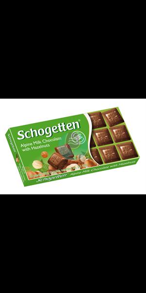 Schogetten lešnik čokolada 100g