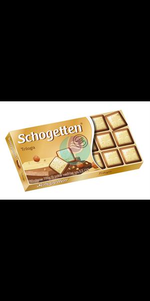 Schogetten trilogija čokolada 100g