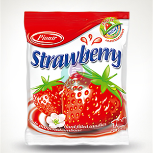 Strawberry bombone 100g Pionir