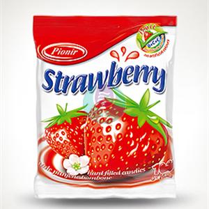 Strawberry bombone 100g Pionir