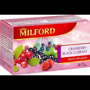 Milford čaj brusnica crna ribizla