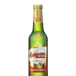 Budweiser pivo 0.33l