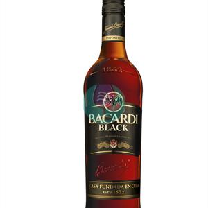 Bacardi Black Rum 0.70l
