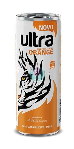 Ultra energy Narandza 0.25l